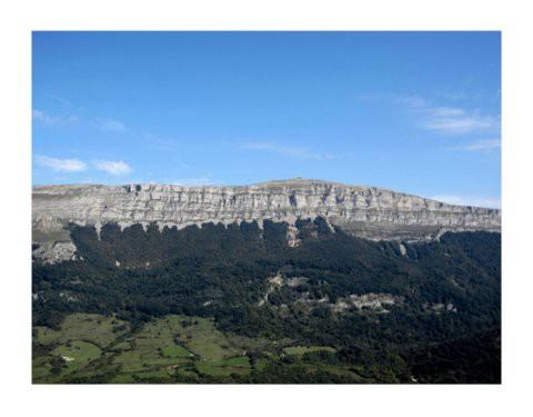 San Donato, Monte Beriain, desde el Mirador de Lizarraga.Navarra